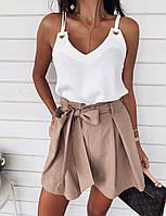 Жіноча блуза «Люверси» стильна,Тканина: софт,однотонна легка(42-46), фото 1