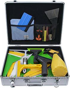 Набор инструментов для тонировки стекол  Qili, комплект инструментов для быстрой и качественной тонировки