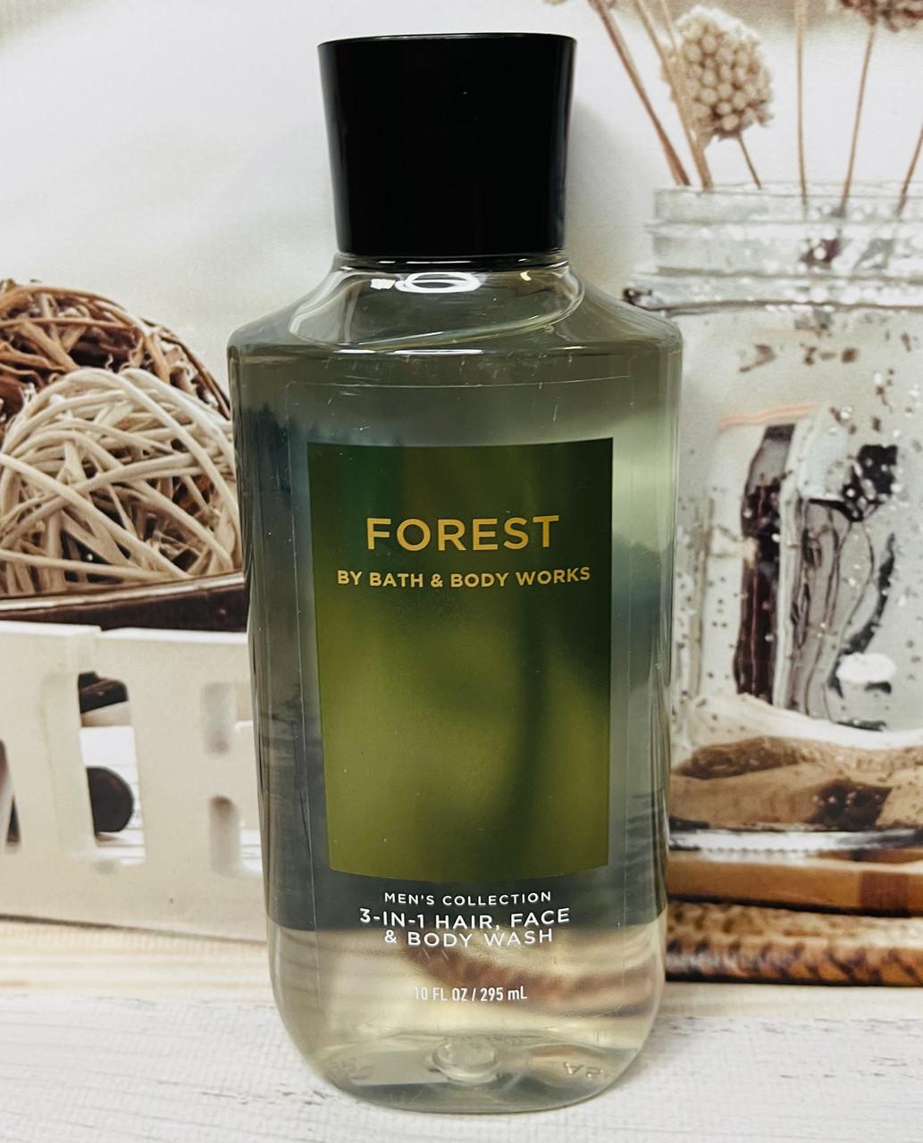 Шампунь і гель для душу Bath and Body Works Ліс