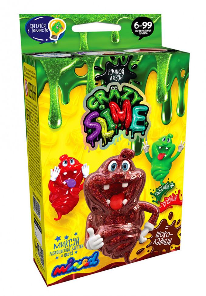 """Дитячий набір для створення лизуна """"Crazy Slime"""" SLM-02, 4 види"""