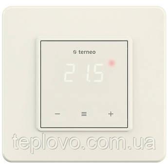 Терморегулятор цифровой terneo s (cлоновая кость) с сенсорными кнопками для теплого пол