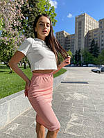 Костюм женский топ+юбка 42-46 рр.