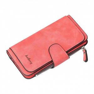 Жіночий гаманець клатч портмоне Baellerry Forever N2345 кораловий