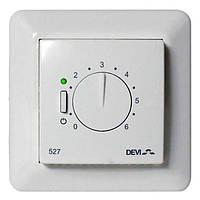 Терморегулятор DEVIreg 527 для теплого пола (без датчика, 15 А, 250 В)