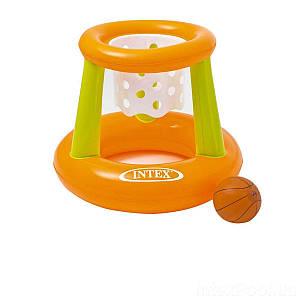 Надувная игра на воде Intex 58504 «Баскетбол», 67 х 55см, (Оригинал)