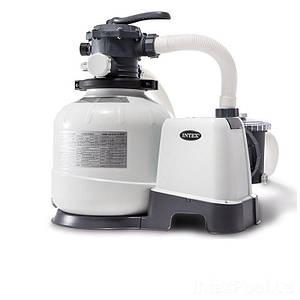 Песочный фильтр насос Intex 26648, 10 000 л\ч, 36 кг, New 2019, (Оригинал)