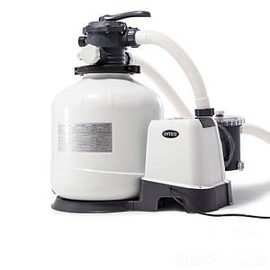 Песочный фильтр насос Intex 26652, 12 000 л\ч, 55 кг, New 2019, (Оригинал)