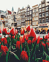 Алмазная мозаика и картина по номерам Тюльпаны Амстердама GZS1127 40х50см Алмазная картина и набор для росписи