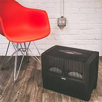VENTA LW 45 Comfort Plus мойка воздуха с встроенным гигрометром и гигростатом в черном корпусе Германия