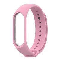 Ремешок для фитнес - трекера Xiaomi Mi Band 3/4 Розовый
