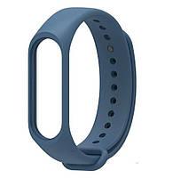 Ремешок для фитнес - трекера Xiaomi Mi Band 3/4 Синий