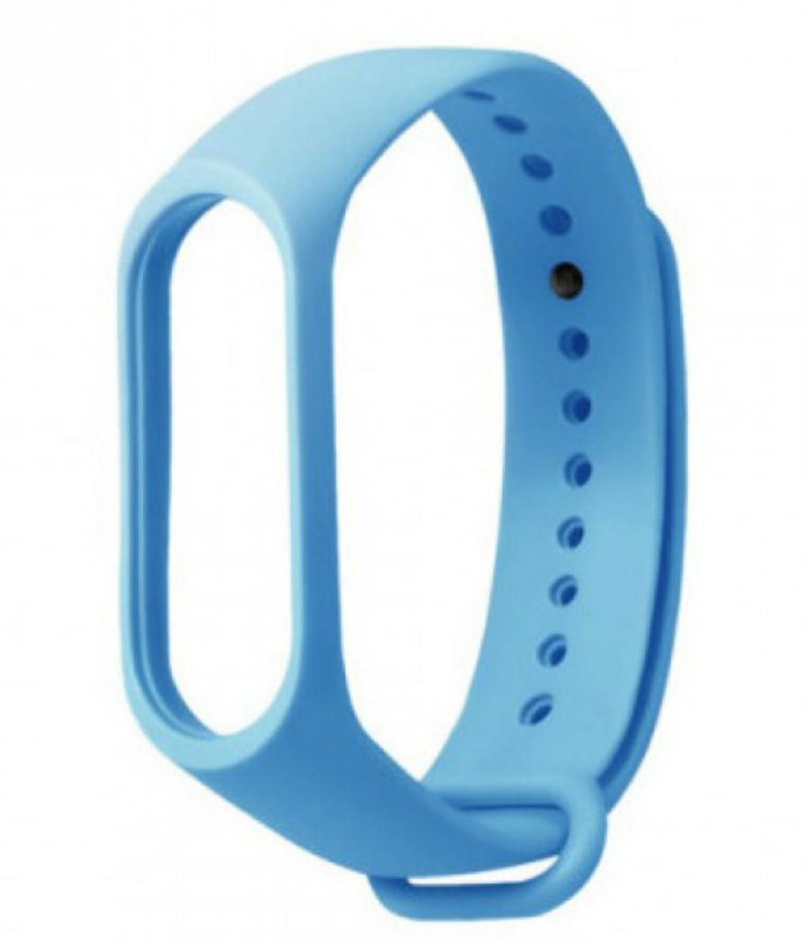 Ремінець для фітнес - трекера Xiaomi Mi Band 3/4 Блакитний
