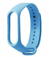 Ремешок для фитнес - трекера Xiaomi Mi Band 3/4 Голубой