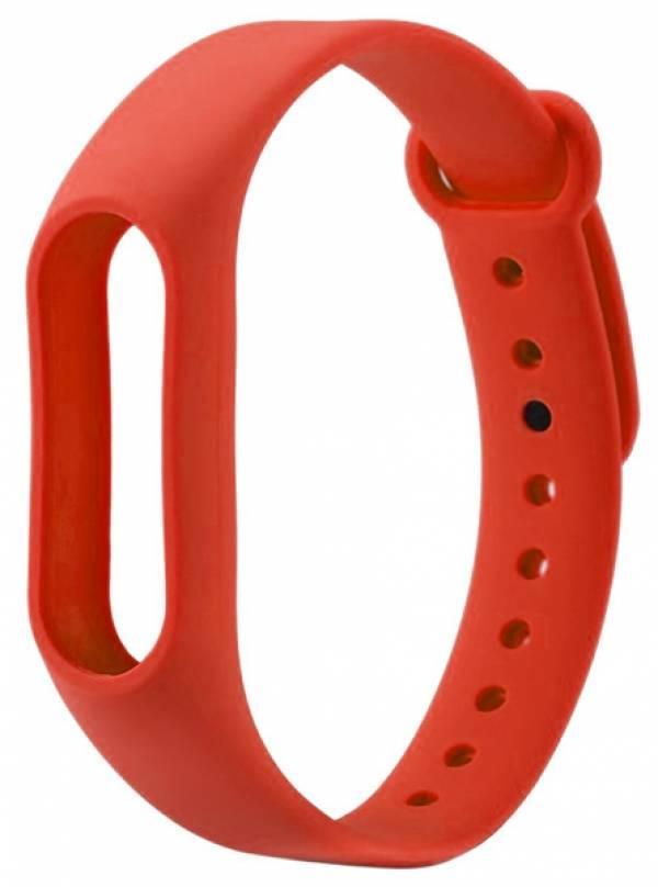 Ремешок для фитнес - трекера Xiaomi Mi Band 2 Красный