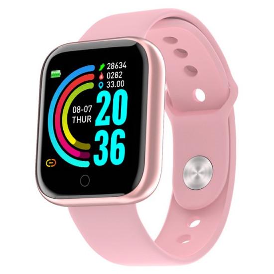 Фитнес браслет Smart Band MI (Розовый)