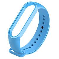 Ремешок для фитнес - трекера Xiaomi Mi Band 5 Голубой