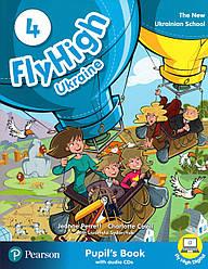 Fly High 4 Student's book +CD UKRAINE
