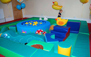 Детская игровая комната 36 кв. м TIA-SPORT. ТС222