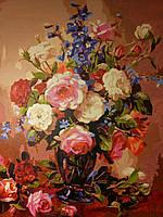 Картина №1. Розы 50*65 см. Холст. Акрил.