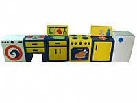 Ігровий набір На кухні жовтий TIA-SPORT. ТС430
