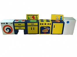 Игровой набор На кухне желтый TIA-SPORT. ТС430