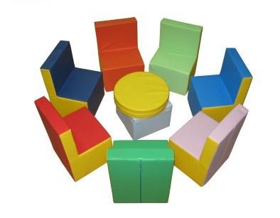 Набор мягкой мебели Радужный TIA-SPORT. ТС452
