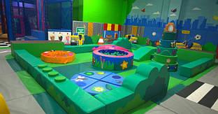 Детская игровая зона 100 кв.м TIA-SPORT. ТС463