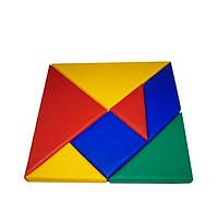 Конструктор Танграм квадрат TIA-SPORT. ТС480, фото 1