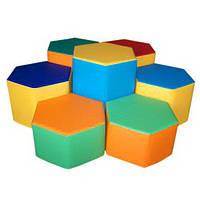 Комплект игровой мебели Шестигранник TIA-SPORT. ТС524
