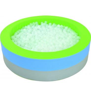 Сухой бассейн с подсветкой круглый 150х40 см TIA-SPORT. ТС577