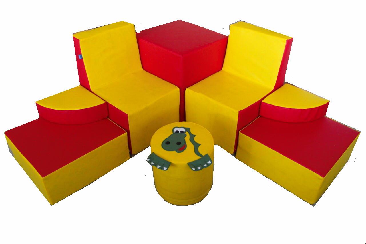 Комплект игровой мебели Динозавр TIA-SPORT. ТС602