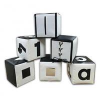 Набор кубиков черно-белый TIA-SPORT. ТС609