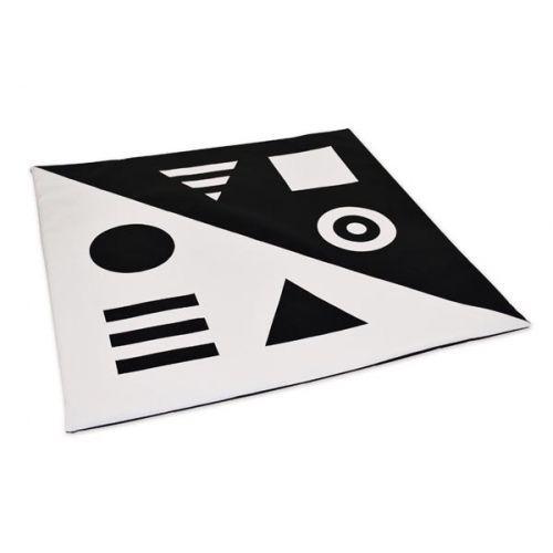 Килимок-мат чорно-білий TIA-SPORT. ТС637