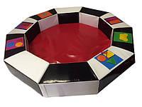 Сухой бассейн-манеж черно-белый 210х30 см TIA-SPORT. ТС638