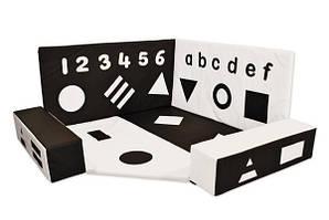 Сенсорный уголок Черно-белый TIA-SPORT. ТС643