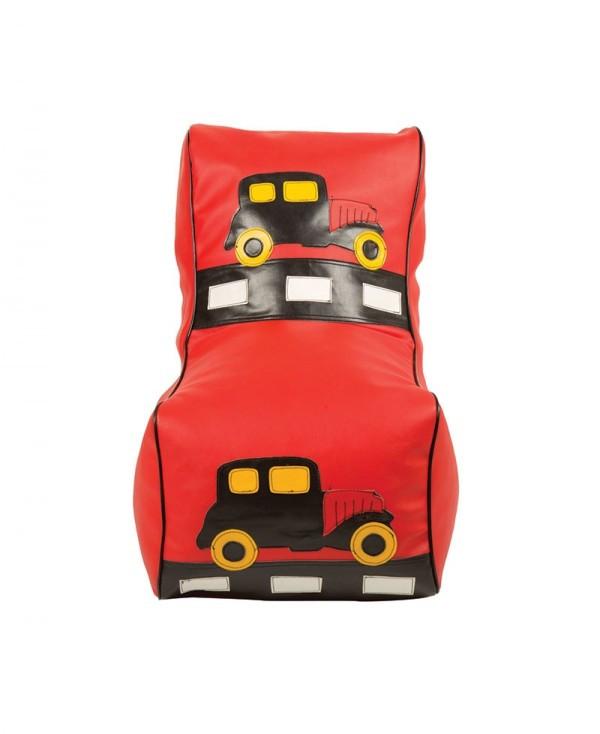Кресло мешок детский Машинка красная TIA-SPORT. ТС661