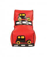 Крісло мішок дитячий Машинка червона TIA-SPORT. ТС661, фото 1