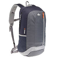 Рюкзак туристический серый 20 литров (водонепроницаемый, городской)