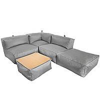 Бескаркасный модульный диван Блэк TIA-SPORT. ТС682