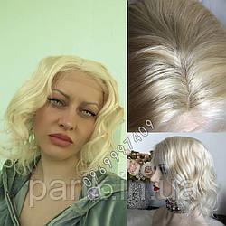 💎Натуральный женский парик блонд каре без чёлки (можно на Мерилин Монро) 💎