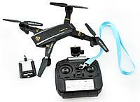 Квадрокоптер-дрон на радиоуправлении Phantom D5H с WiFi камерой, Управление через телефон или пульт ДУ