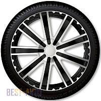 Ковпаки для коліс Toro Silver Black R16 (Комплект 4 шт.) 4 Racing