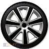 Ковпаки для коліс VR Silver Black R14 (Комплект 4 шт.) 4 Racing