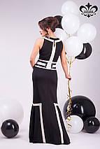 Контрастное платье | Джованна lzn, фото 3