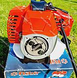 Мотокоса бензинова Ribir GTR-8000 в комплекті з культиватором, фото 3