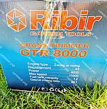Мотокоса бензинова Ribir GTR-8000 в комплекті з культиватором, фото 5