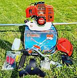 Мотокоса бензинова Ribir GTR-8000 в комплекті з культиватором, фото 6