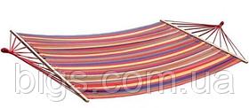 Гамак мексиканский тканевый 120*200 см с длинными планками