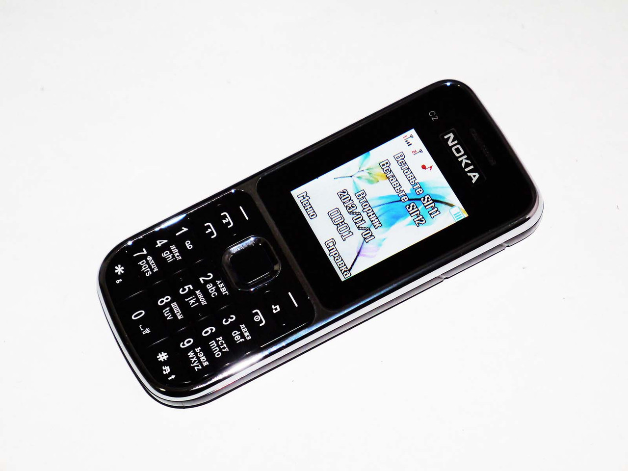 """Телефон Nokia C2 Черный - 2Sim+2""""+BT+camera+FM"""