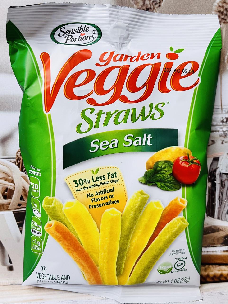 Овощные чипсовые снэки Sensible Portions Garden Veggie Straws